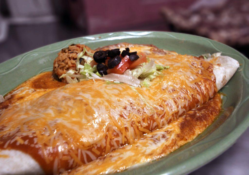 burrito for lunch or dinner